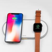 БЗУ Hoco CW20 Wisdom 2-in-1 wireless charger